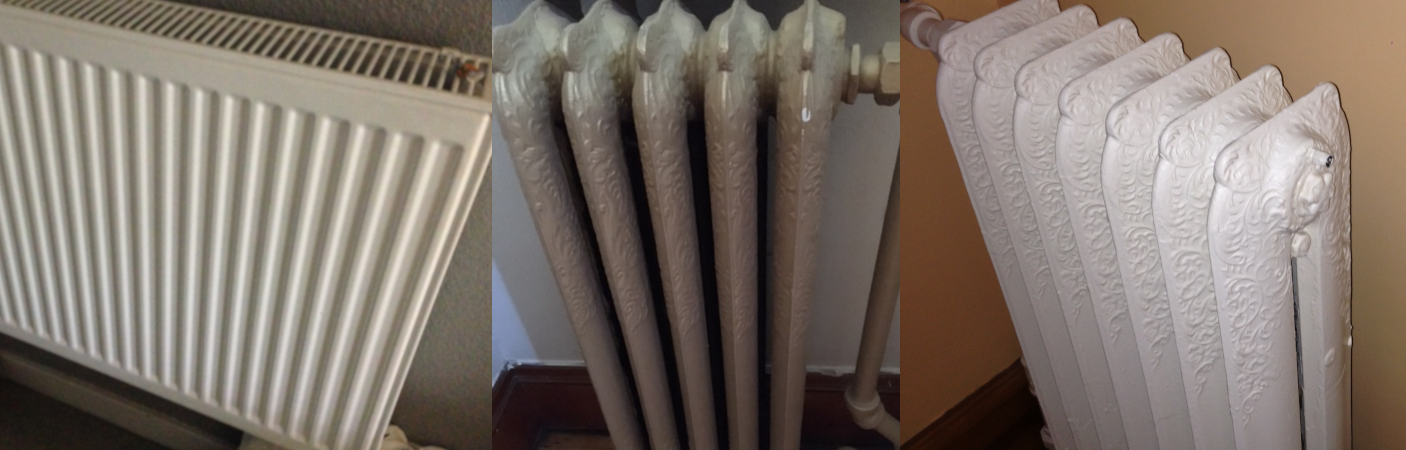 Multiple radiators