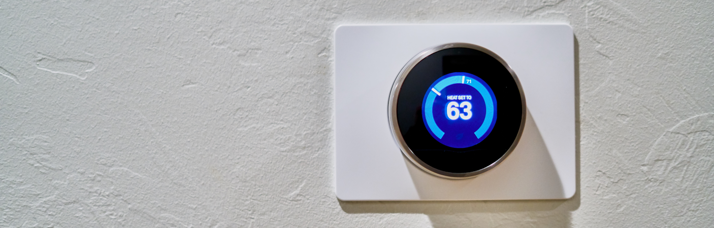 Smart Thermostat Close up